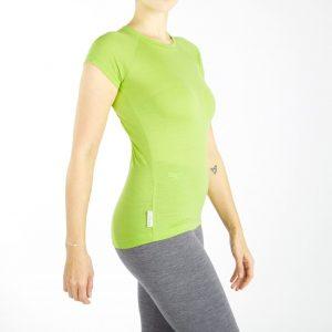 tričko Koliba - limetka