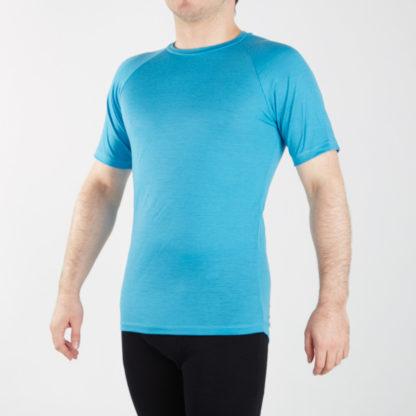 Pánske funčkné tričko - tyrkys