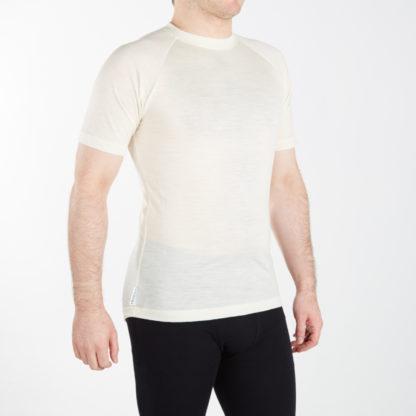 Pánske funčkné tričko - krémová