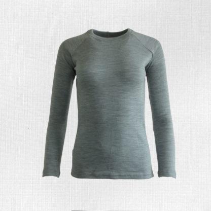 damske merino tričko lehota siva
