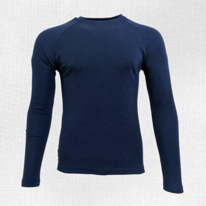 Pánske tričko z merino vlny s dlhým rukávom