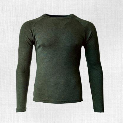 merino tričko Liesek - zelena
