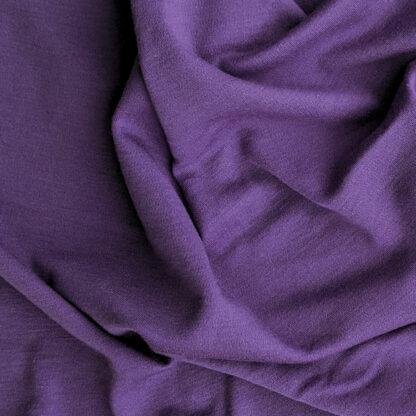 100% merino vlna - fialová