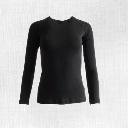 damske merino trićko lehota čierna