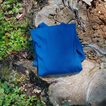 merino vlna modra