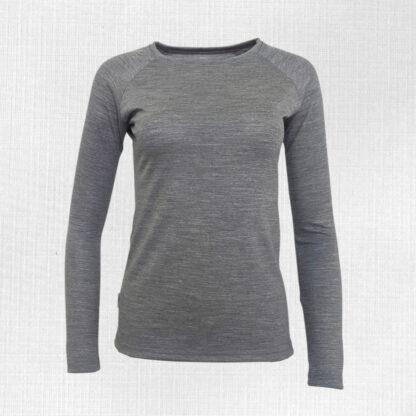 Pohodlné termo tričko dámske z merina