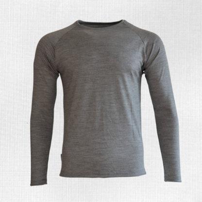 Pánske merino tričko Kriváň svetlosivý melír