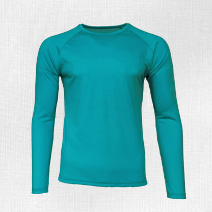 Tenké merino tričko Kriváň s dlhým rukávom