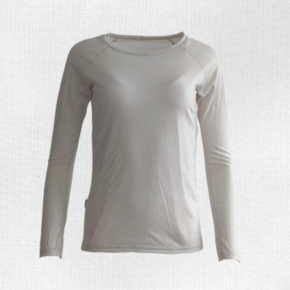 Termo tričko z merino vlny 100% svetlobéžové
