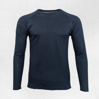 Pánske tričko z merina dlhý rukáv