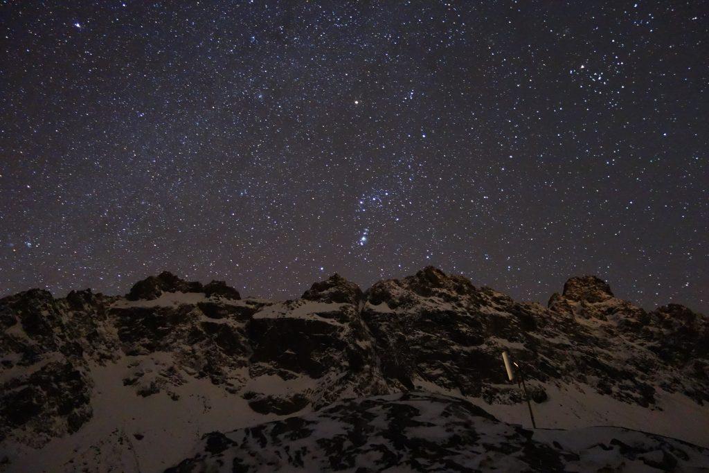 Veľká studená dolina - Orion