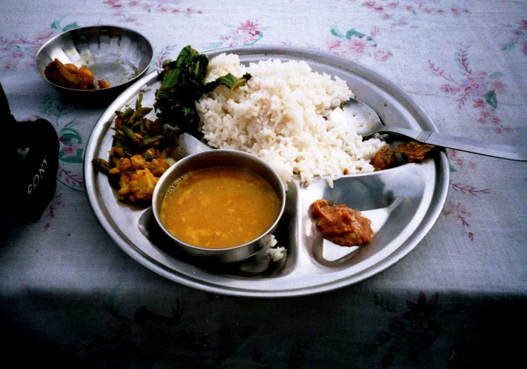 Nepalsky Dal Bhat
