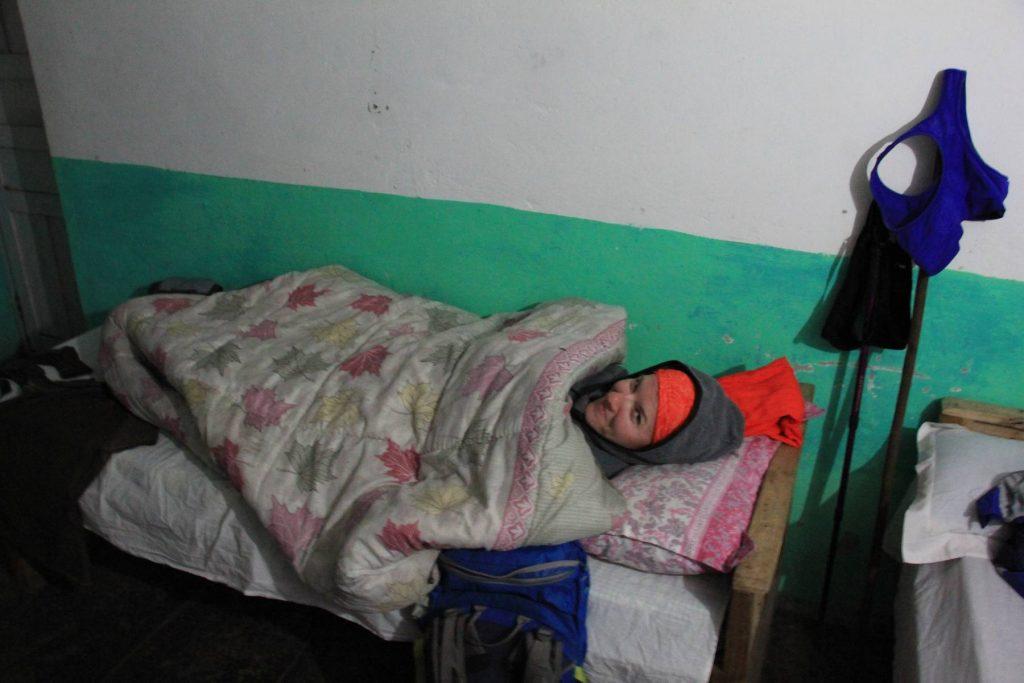 Ubytovanie na treku v Nepale