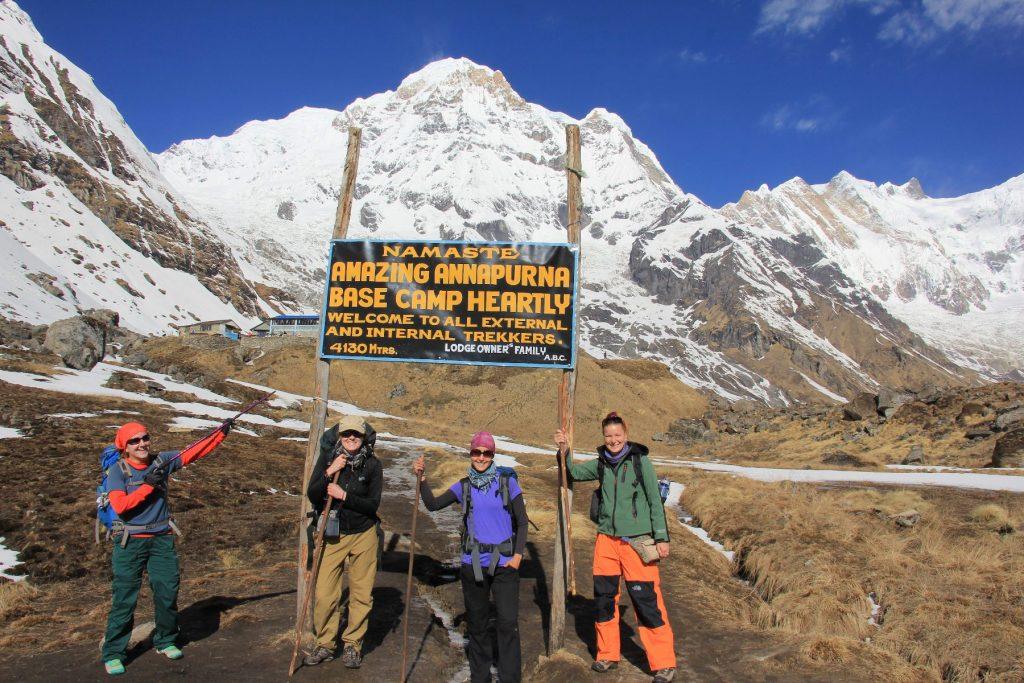Annapurna Base camp a sme tu!