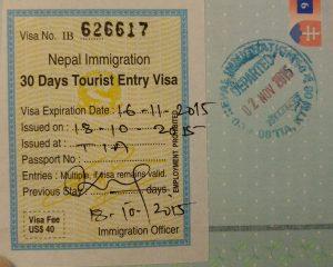 Nepal viza