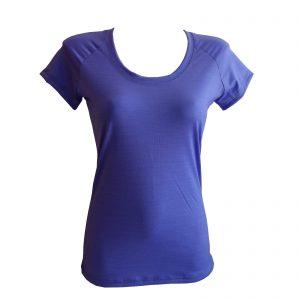 dámske tričko Poruba - fialová