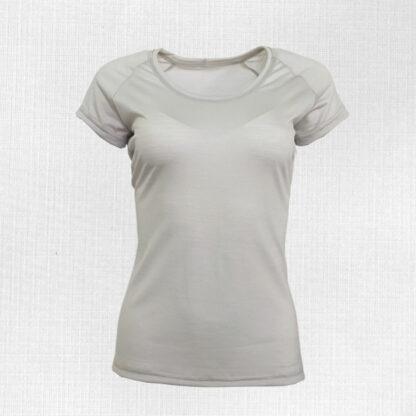 Pohodlné dámske merino tričko s krátkym rukávom