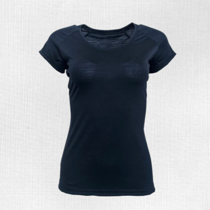 Merino tričko dámske modré