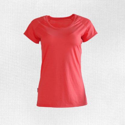 Dámske ležérne merino tričko Poruba s krátkym rukávom