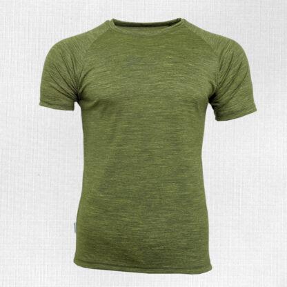 Pánske merino tričko Poltár s krátkym rukávom