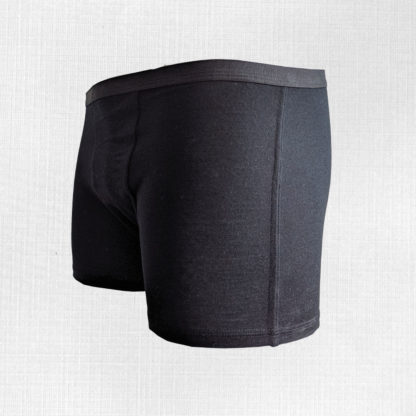 merino boxerky trstin cierne zboku