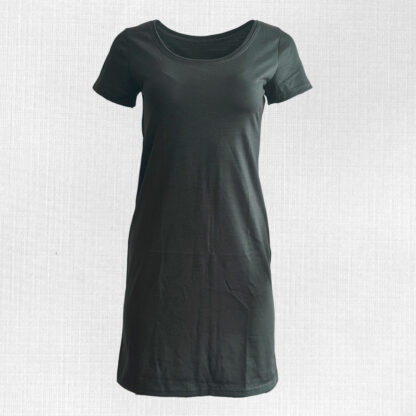 Dámske šaty z merino vlny olivové