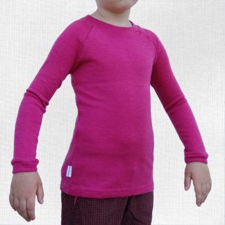 detské merino termo tričko