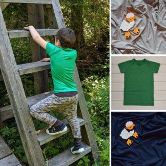 detské tričko z merino vlny