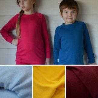 Detské merino tričko Hrádok