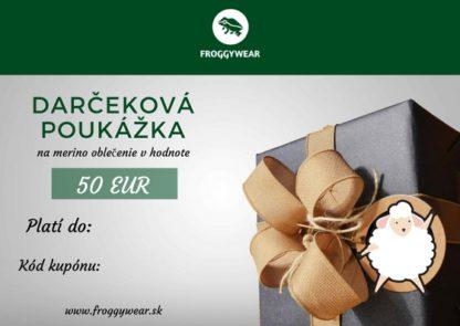 froggywear darčeková poukážka