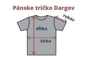 Merino tričko Dargov - miery