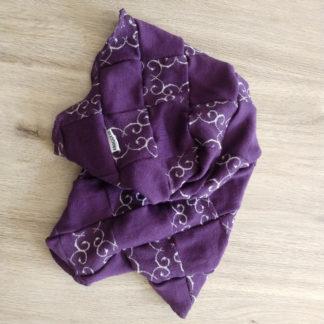 multifunkčná šatka fialová