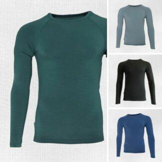 Elastické termo tričko Kysak pre mužov z merina