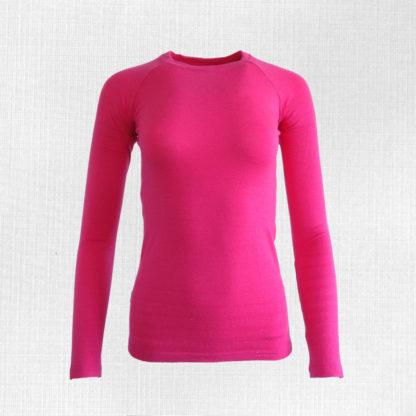 damske merino trićko ružové