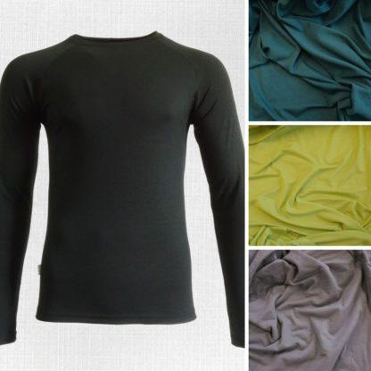 Kysak pánske elastické termo tričká s dlhým rukávom funkčné