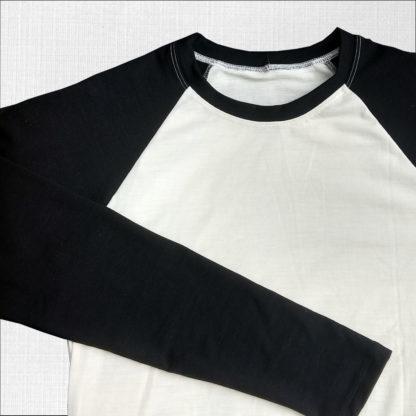 elastické funkčné tričko krémová-čierna
