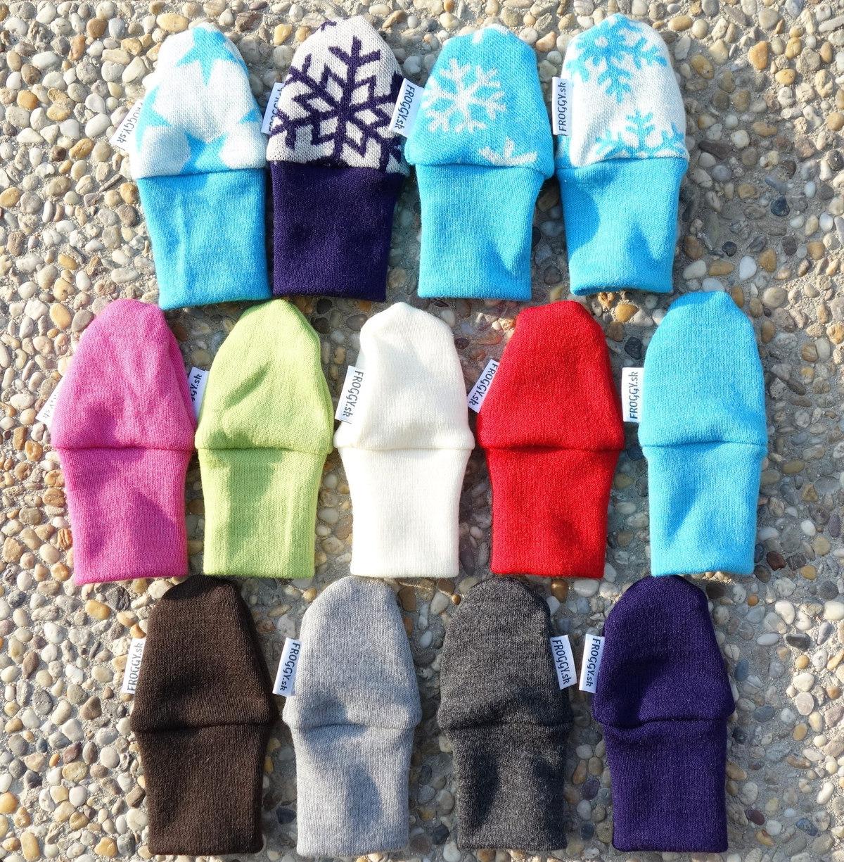 c92a853b908e Merino rukavičky pre novorodencov