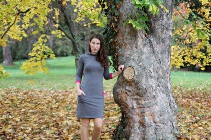 jesenné merino šaty