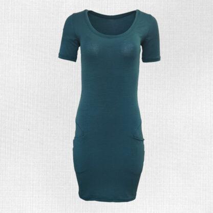 Dámske elastické merino šaty Lehnice