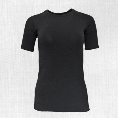 Dámske merino tričko Spálená krátky rukáv