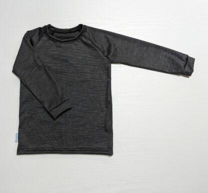 Detské tričko z merino vlny dlhý rukáv Becherov