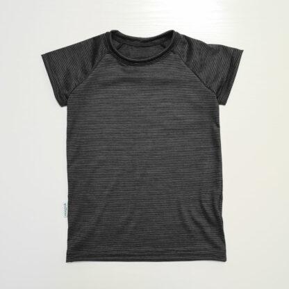 Detské termo merino tričko s krátkym rukávom
