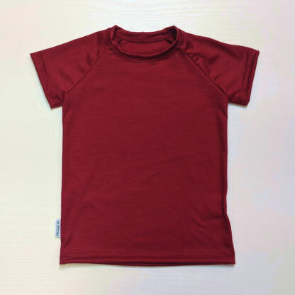 Detské merino tričko Gemer krátky rukáv