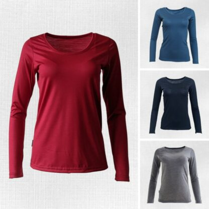 Dámske merino tričá Litava s dlhým rukávom