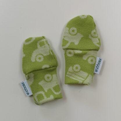 Novorodenecké merino rukavičky