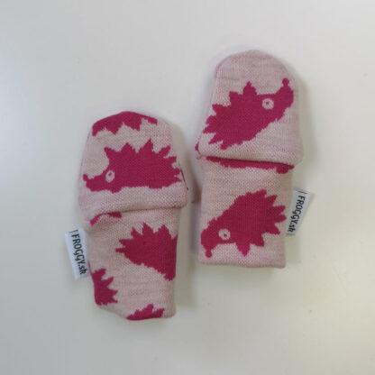 Detské rukavičky z merina ježko