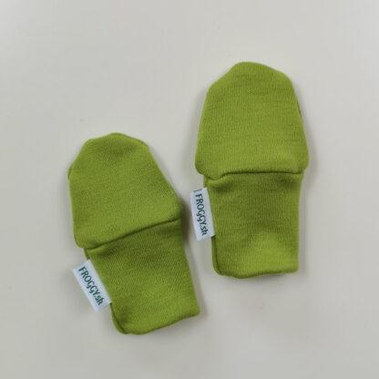 100% merino rukavičky pre deti - limetkové
