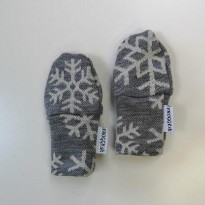 Merino rukavičky pre novorodencov