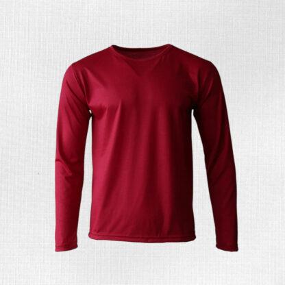 Tričko z merino vlny pre mužov s dlhým rukávom Limbachj