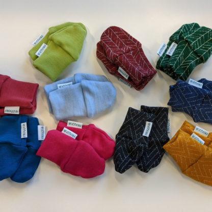 Teplé rukavičky pre bábätká z merina